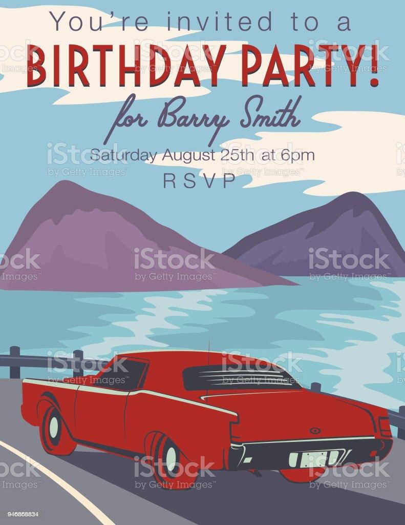 223 cars birthday invitations illustrations clip art istock