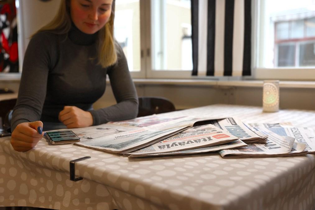 Lehdet tärkeimmät tiedonhakulähteet kevään kuntavaaleissa