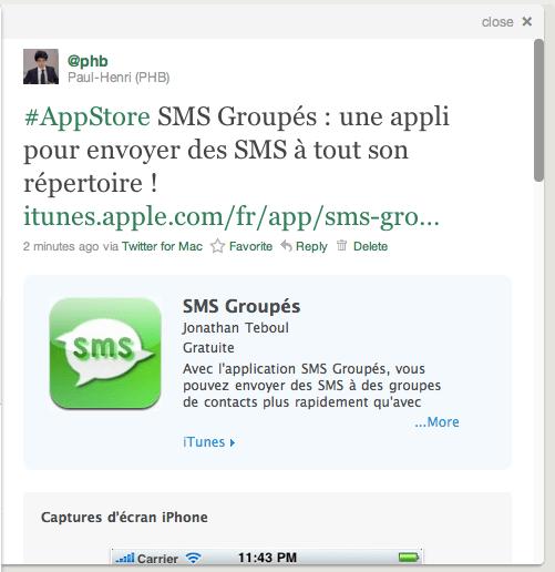 Capture d'écran Twitter.com