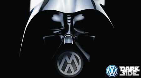 Greenpeace lutte contre le côté obscur de VW