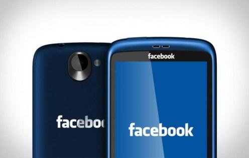 Voici à quoi pourrait ressembler un Facebook Phone