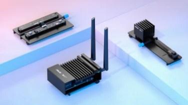 Microsoft Azure Percept hardware including audio and vision