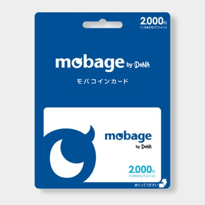 Mobage MobaCoin Card