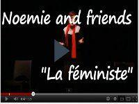 noemie and friends la féministe