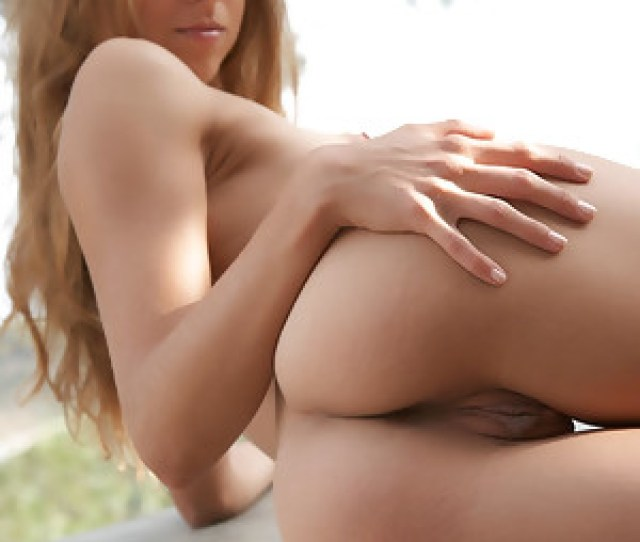 Antea Flaunts Her Petite Naked Body And Sweet Pussy As She Poses Outdoors Image