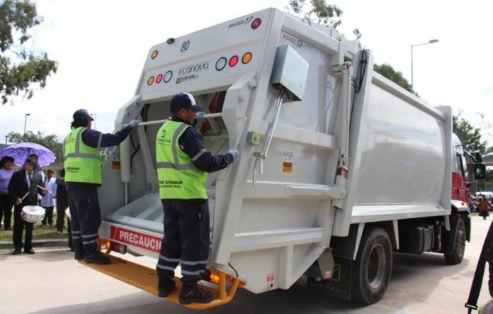 La recolección de residuos será normal durante Jueves y Viernes Santo