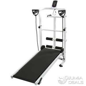 fitness homcom tapis roulant electrique de course pliable 500 w 1 10 km h ecran lcd multifonctions acier noir et blanc neuf 01wt