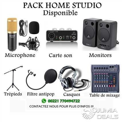 pack home studio