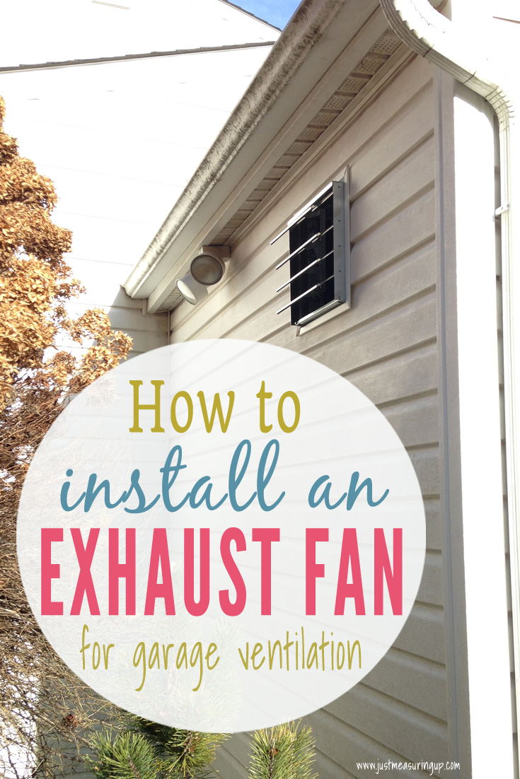 how to install an exhaust fan easy