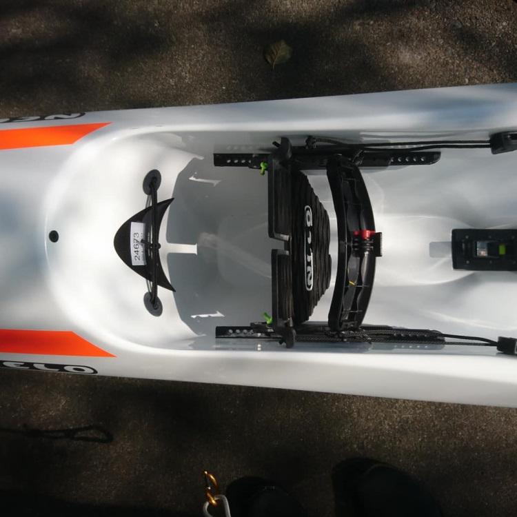 Carbonology Sport Zest & Nelo 550 Surfski