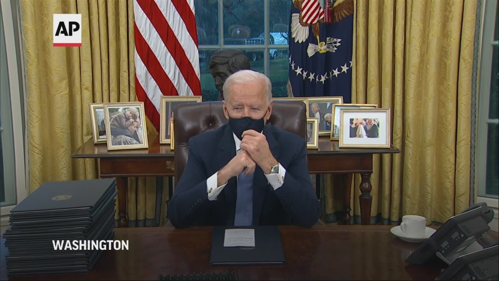 How would you rank the first week of the Biden presidency?