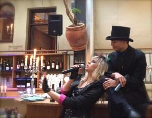 Karin Funk Hagabadet med Hector Lopez