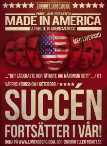 """Made in America"" Cabaret Lorensberg Göteborg"