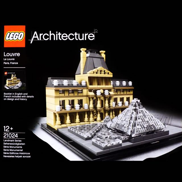 Lego Architecture 21024 Le Louvre Reserved Hobbies Toys Toys Games On Carousell