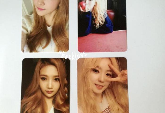 Red Velvet Ice Cream Cake Official Photocard Entertainment K Wave