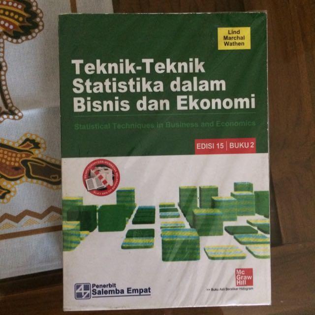 (statistika inferensia) nata wirawan cara mudah memahami statistika ekonomi dan bisnis (buku 2 : 28 Statistika Ekonomi Dan Bisnis Info Dana Tunai