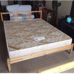 Available Queen Size Bed Frame Ikea Frame And Seahorse Mattress Furniture Beds Mattresses On Carousell