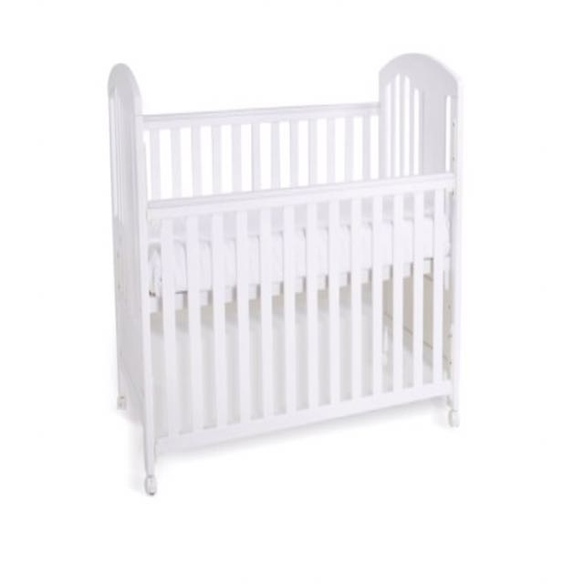 Jarron Co Baby Cot With Mattress And Bedding