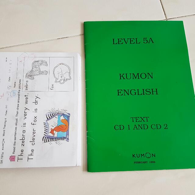 400pcs 5A Kumon English Worksheets   2CD  Guide text  Pendind     photo photo photo photo
