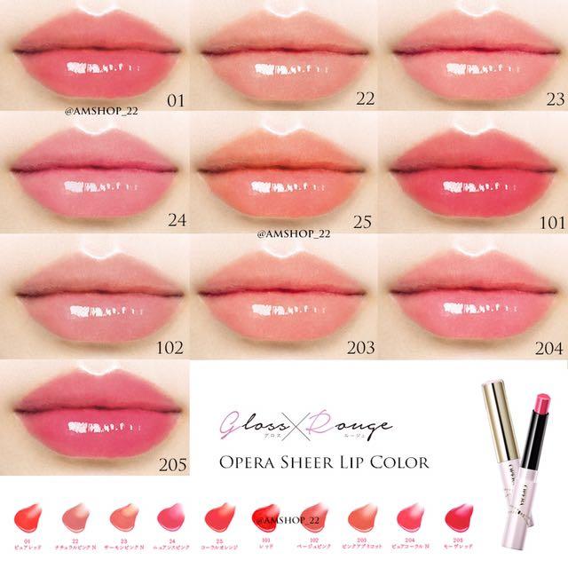 預訂 日本 opera 唇膏 Lip Tint / Sheer Lip Color,全國配送,上架就秒殺 | ET Fashion | ETtoday新聞雲