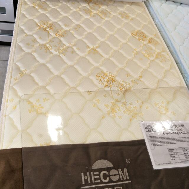 Seahorse Hecom Brand Everlasting Pocketed Spring Single Size 9 35 Inch Mattress Home Furniture Mattresses Bed Frames On Carou