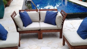 Set Outdoor Sofa Combinations Ikea APPLARO On Carousell