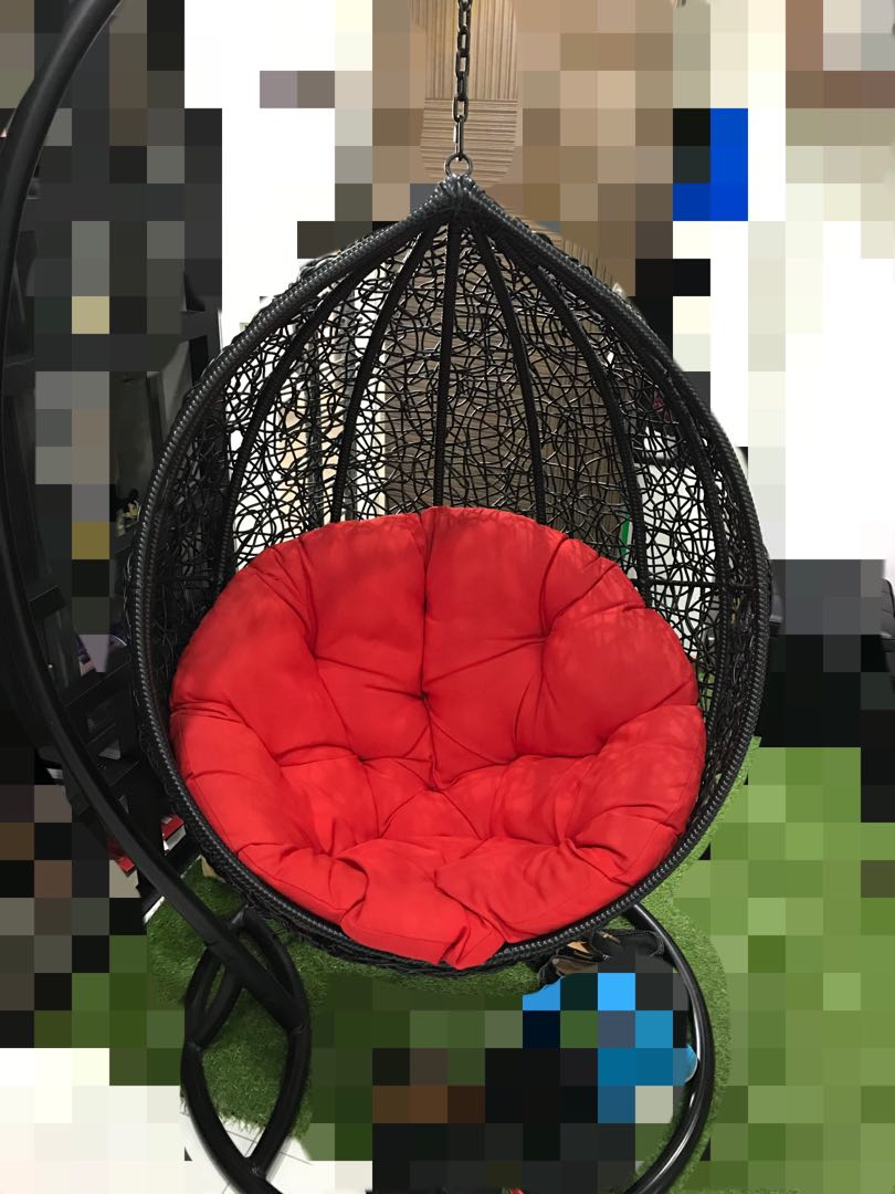 High Quality  Rattan Swing Chair  Furniture  Tables   Chairs on     High Quality  Rattan Swing Chair  Furniture  Tables   Chairs on Carousell