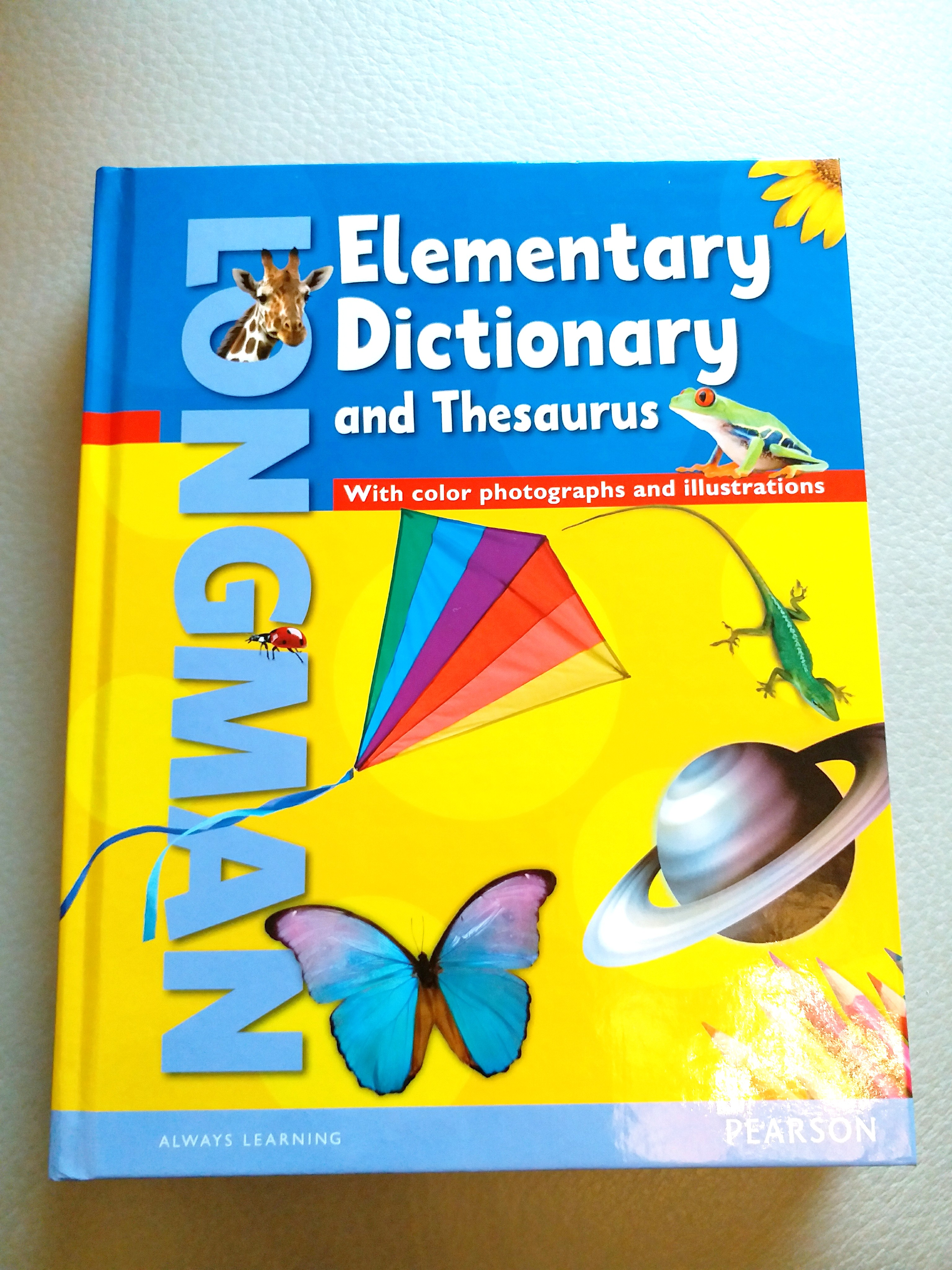 Pearson Elementary Dictionary And Thesaurus Amp