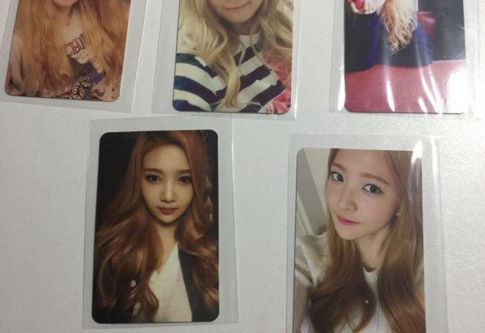 Red Velvet Ice Cream Cake Photo Cards Entertainment K Wave On