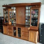 Teak Wood Display Cabinet Furniture Others On Carousell