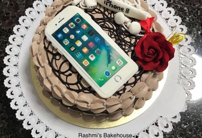 Birthday Cake Fondant Cake Phone Cake Iphone Cake Food