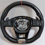 Mercedes Benz Amg Carbon Fiber Steering Wheel Custom Made Car Accessories Accessories On Carousell