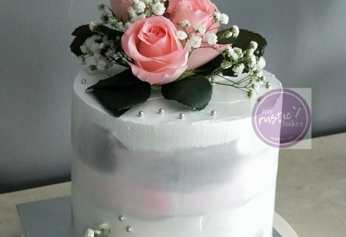 Wedding Engagement Cakes Food Drinks Baked Goods On Carousell