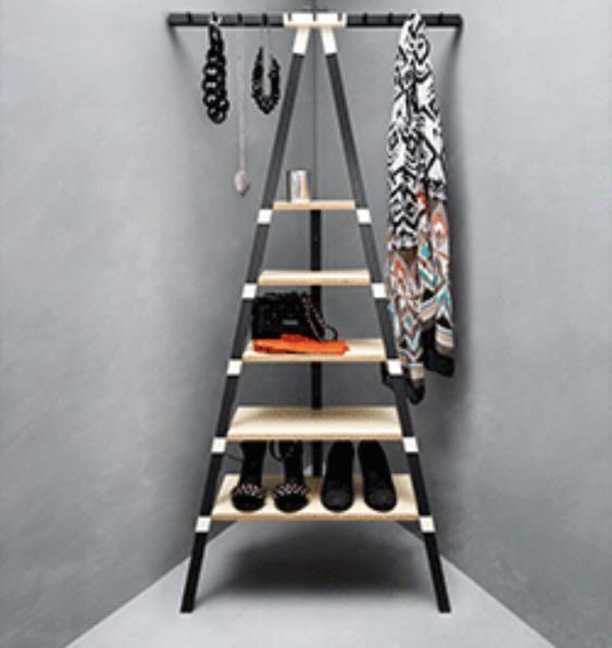 Ikea Triangle Leaning Shelf Furniture Shelves Drawers On Carousell