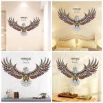 Instock Eagle Wall Stickers Living Room Bedroom Study Wall