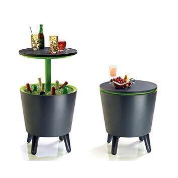cool bar side table cooler box