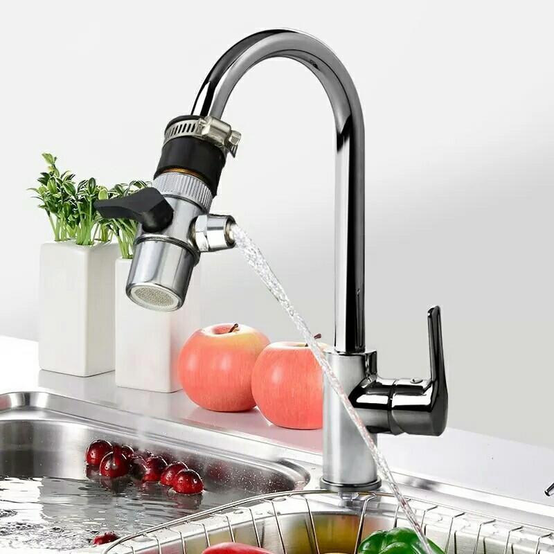 new water saving kitchen water faucet bubbler swivel tap connector bathroom valve filter nozzle diverter