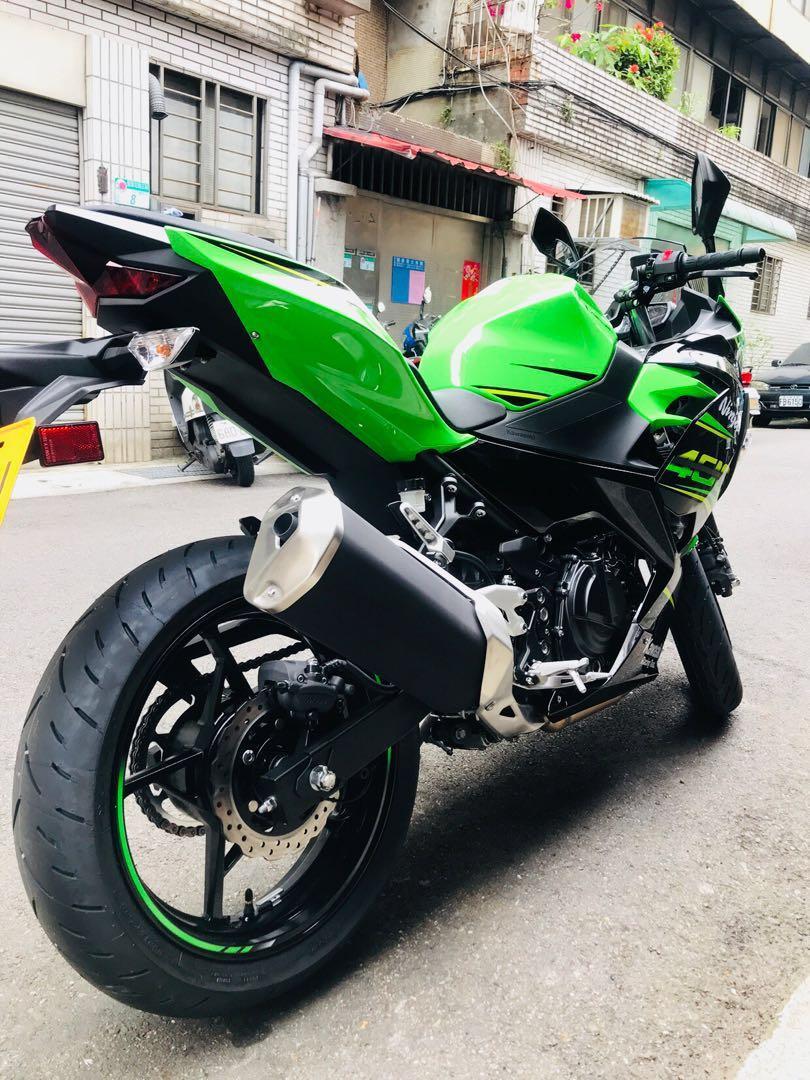 2019年 Kawasaki Ninja 400 ABS 忍者 忍4 只跑兩千多公里 可分期 免頭款 歡迎車換車 網路評價最優 業界分期利息最低 ...