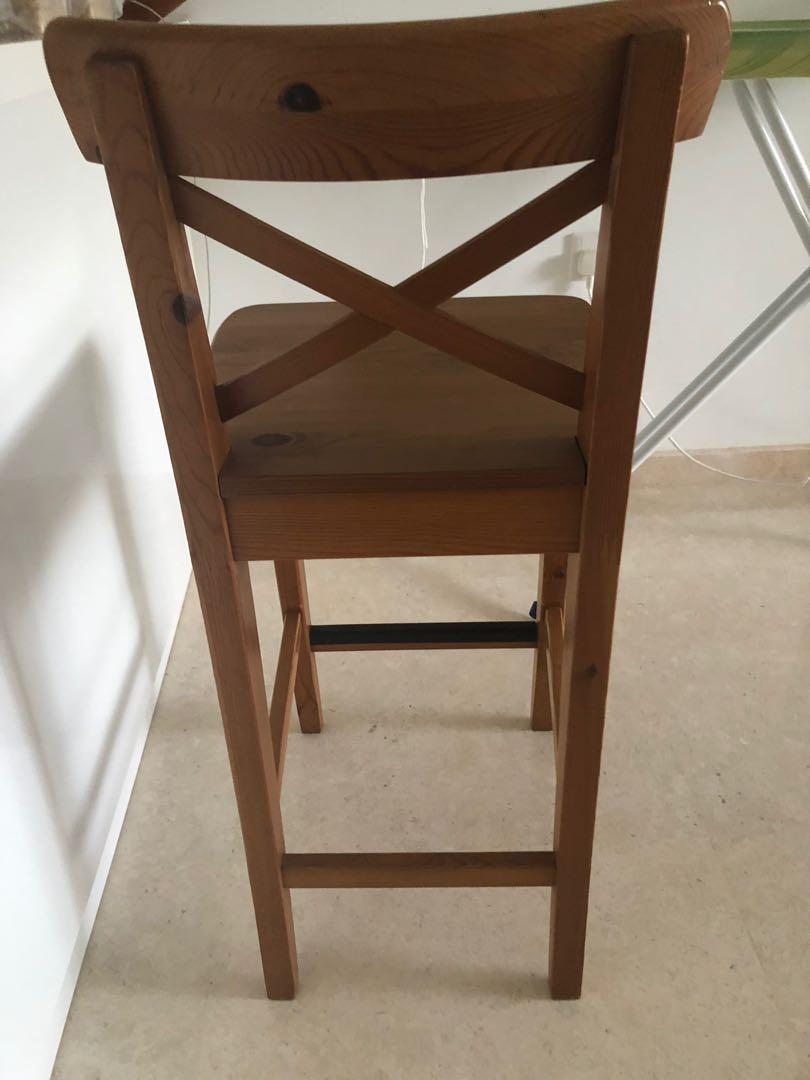 Timber Bar Stool Perfect For Island Bench Furniture Tables Chairs On Carousell