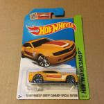 Hot Wheels 2013 Chevy Camaro Special Edition Yellow Toys Games Bricks Figurines On Carousell
