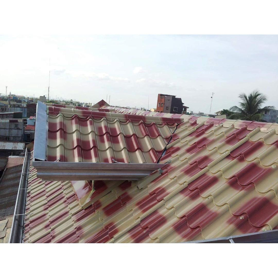 tilespan two tone roofing commercial