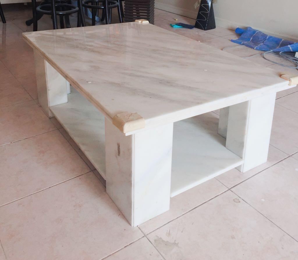 12 12 flash sale solid marble coffee table
