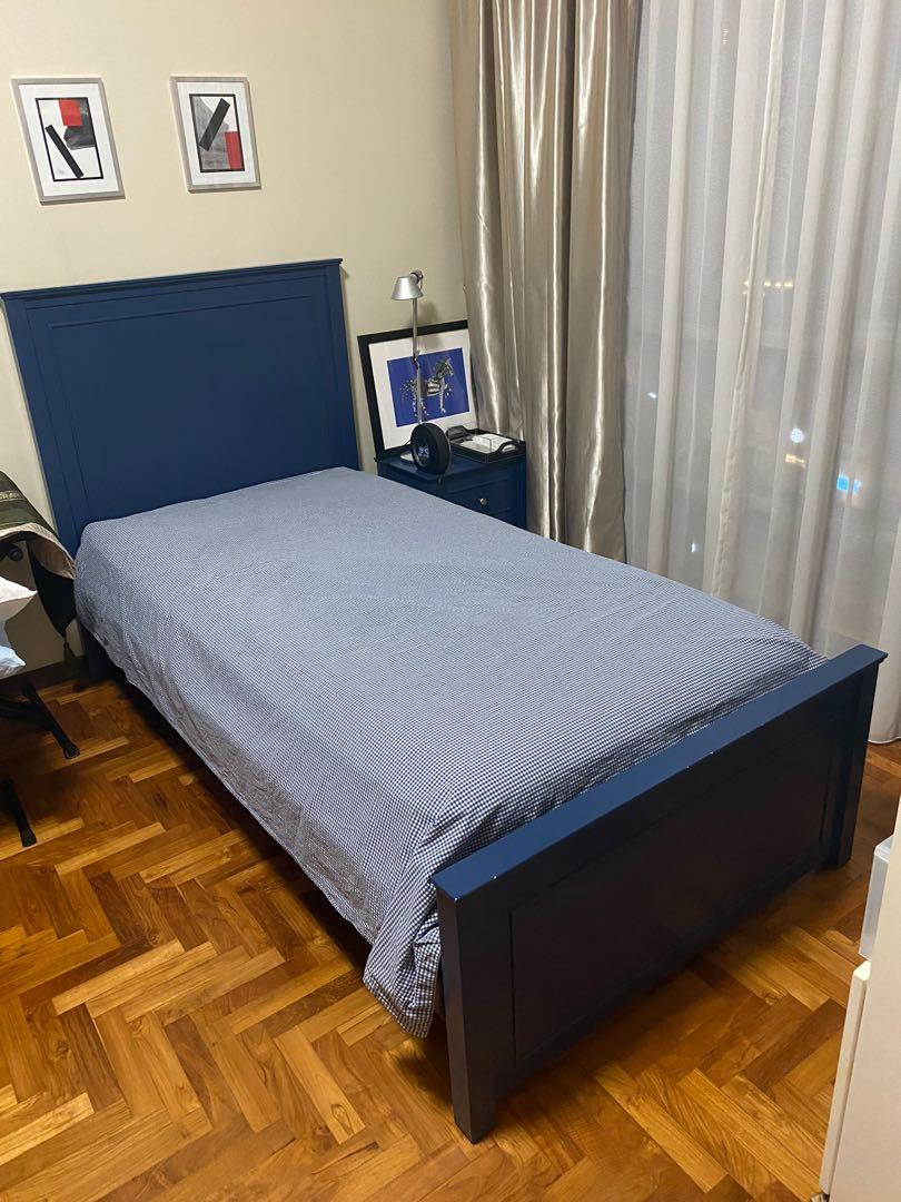 Custom Made Big Boy Bed American Twinf Furniture Beds Mattresses On Carousell