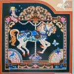 2 Charts Carousel Horse Cross Stitch Chart Design Craft Craft Supplies Tools On Carousell