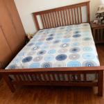 Solid Wood Bedframe For Sale Furniture Beds Mattresses On Carousell