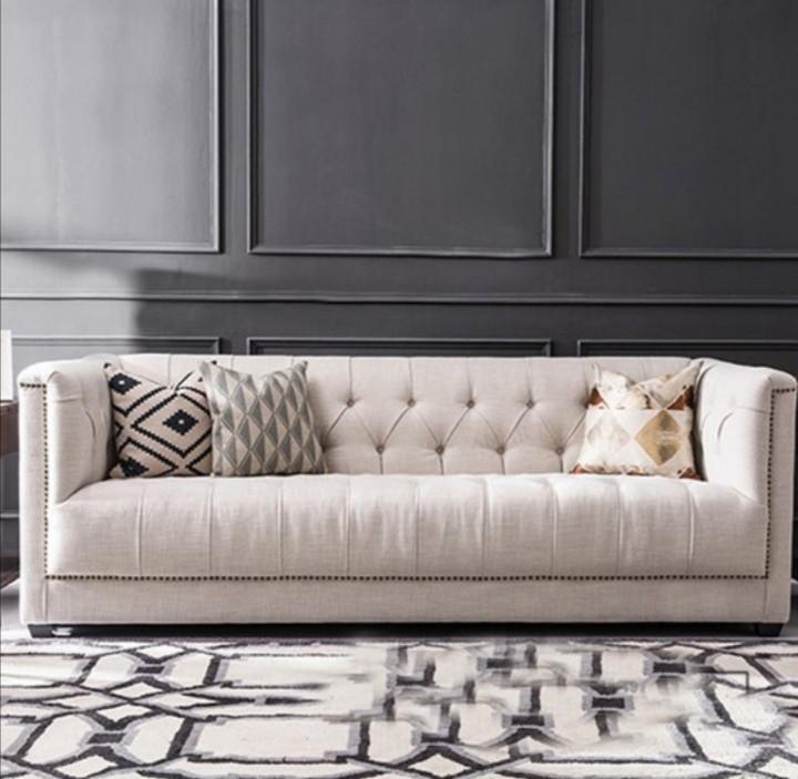 seat sofa velvet solid wood