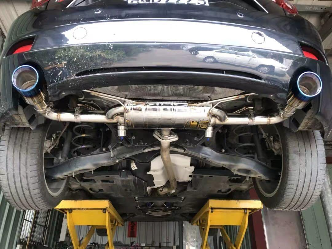 mazda 3 6 exhaust muffler mid pipe axle cat back for all years model