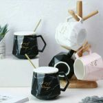 Marble Aesthetic Ceramic Mugs Home Furniture Home Tools And Accessories On Carousell
