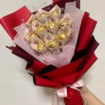 Money Bouquet With Ferrero Rocher Gardening Flowers Bouquets On Carousell