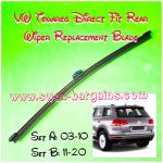 Volkswagen Touareg Rear Wiper Blade Factory Arm Design Hook Type Direct Plug And Play Replacement Back Windscreen Soft Rubber Blade Car Accessories Accessories On Carousell